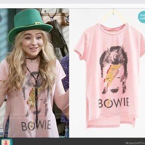 David Bowie girls t shirt